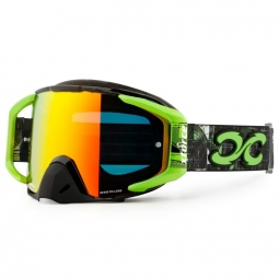 masque xforce assasin xl black neon green adulte