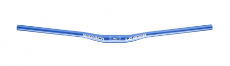 Cintre SIXPACK leader750 31,8mm - Bleu