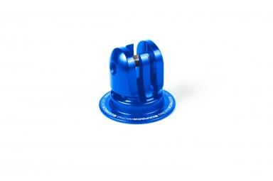 bouchon de potence sixpack 2en1 support gopro bleu