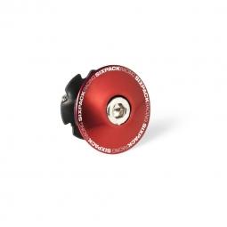 Etoile et bouchon de potence sixpack 1 1 8 rouge