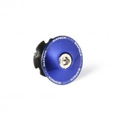 Etoile et Bouchon de potence SIXPACK 1-1/8 - Bleu