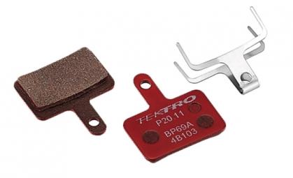 plaquette de frein tektro p20 11 metalliques