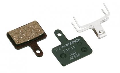 plaquette de frein tektro e10 11 metalliques