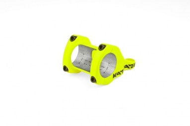 Potence vtt sixpack racing kamikaze direct mount jaune fluo