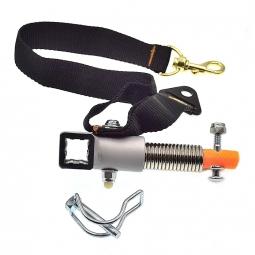 Fixation extrémité du bras d´attelage remorque vélo Croozer