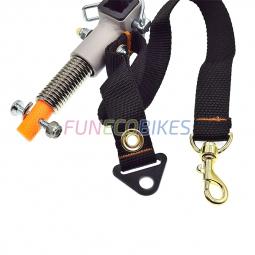 Fixation extrémité du bras d'attelage remorque vélo Croozer