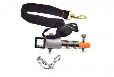 Fixation extrémité du bras d'attelage remorque vélo Croozer .