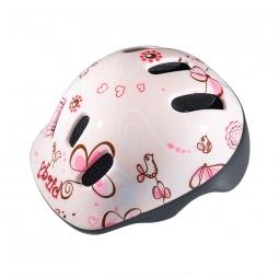 Casque enfant polisport birdy pink 44 48 cm