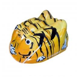 Casque velo enfant maxxus tiger 48 52 cm jaune