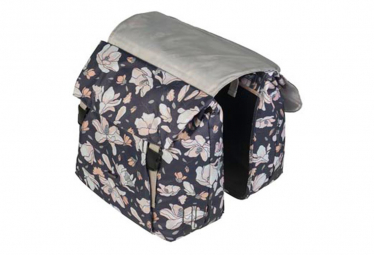 Image of Sacoches velo double impermeables magnolia pastel 35l basil