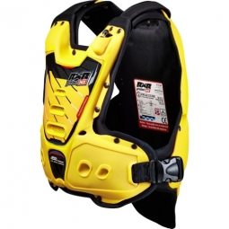 Gilet protection rxr strongflex junior yellow lining blk enfant