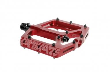 pedales sixpack kamikaze rouge
