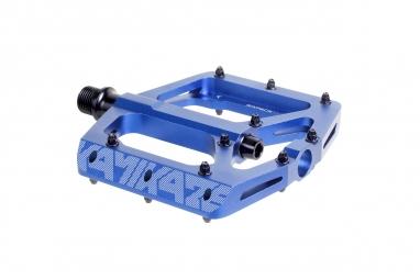 pedales sixpack kamikaze bleu