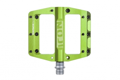 Pédales SIXPACK Icon - Electric Green