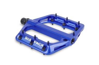 Pédales SIXPACK Millenium -AL - Bleu