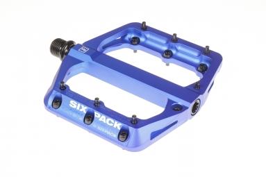 Pédales SIXPACK Millenium -MG - Bleu