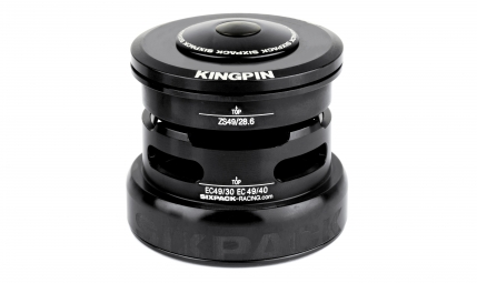 Jeu de direction sixpack kingpin 2in1 noir
