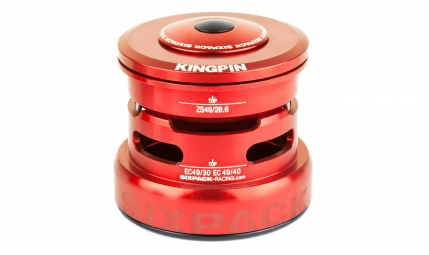 Jeu de direction sixpack kingpin 2in1 rouge