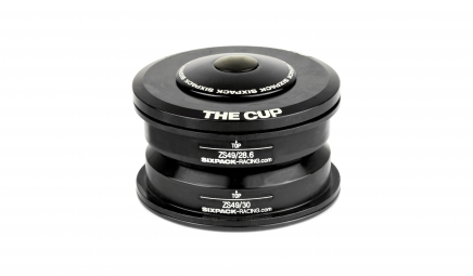 Jeu de direction sixpack the cup semi int noir