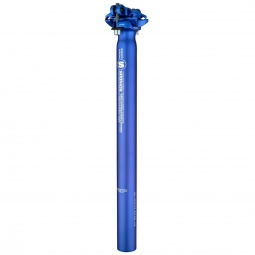 tige de selle sixpack menace bleu 31 6 x 350
