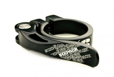 collier de selle sixpack menace noir 31 8mm