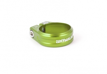 collier de selle sixpack skywalker electric green 31 8mm