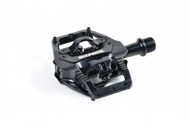 Pédales Sixpack-Racing Vertic (Q-Factor : 52.5mm) Couleur:Noir