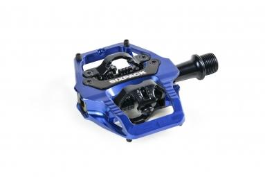 Image of Pedales sixpack racing vertic q factor 52 5mm couleur bleu
