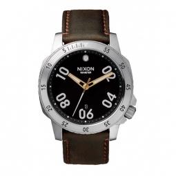 Montres Nixon Ranger Leather - Black / Brown