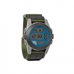 Montre Nixon Baja - Surplus Grey / Blue