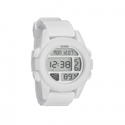 montre nixon the unit white