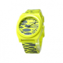 Montre nixon time teller plastic citron wildside