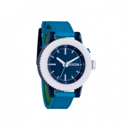 Montre Nixon The Gogo - Green Blue / Navy