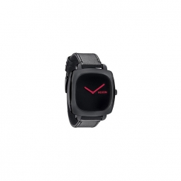 montre nixon the shutter ss all black pink