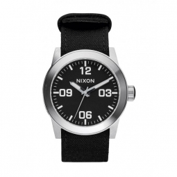 montre nixon private black