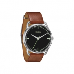 montre nixon mellor black saddle