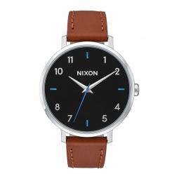 Montre Nixon Arrow Leather - Black / Brown