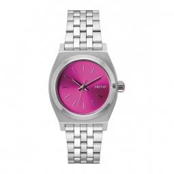 Montre nixon medium time teller pink sunray b4bc