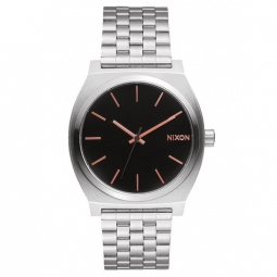 Montre Nixon Time Teller - Gray / Rose Gold