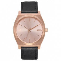 Montre nixon time teller all rose gold black