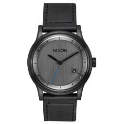 Montre Nixon Station Leather - All Black