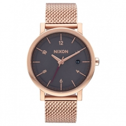Montres Nixon Rollo 38 SS - All Rose Gold / Charcoal