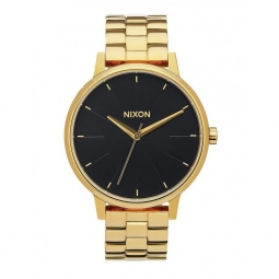 montre nixon kensington all gold black sunray