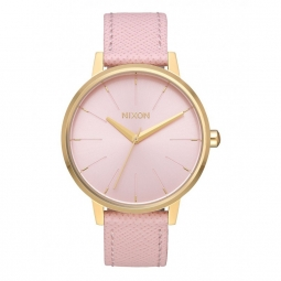 Montre Nixon Kensington Leather - Light Gold / Pale Pink
