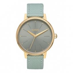 Montre Nixon Kensington Leather - Light Gold / Agave