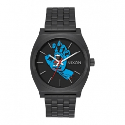 Montre nixon time teller black screaming hand