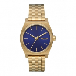 Montre Nixon Medium Time Teller - Light Gold / Indigo Sunray