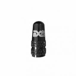 Bouchon de valve presta alu sixpack couleur noir