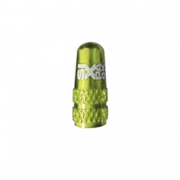 bouchon de valve presta alu sixpack couleur electric green