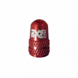 bouchon de valve schrader alu sixpack couleur rouge